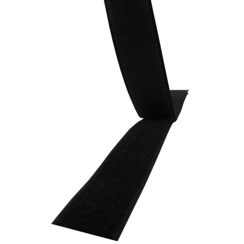 Fita de velcro cor preto