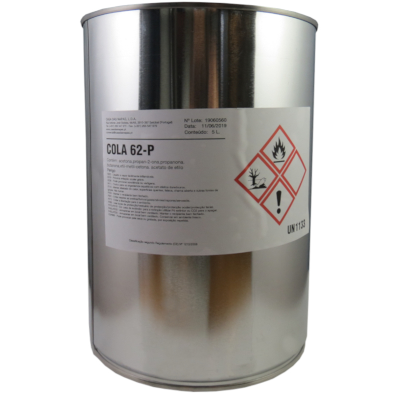 Cola Plástica Pistolável 62-P 5 Litros